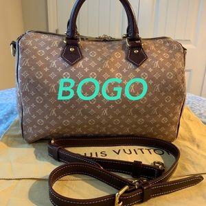 🎁 Louis Vuitton Speedy Bandoliere Mini Lin